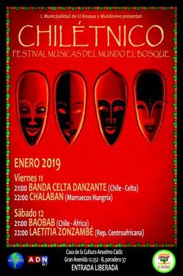 Chilétnico El Bosque Enero 2019